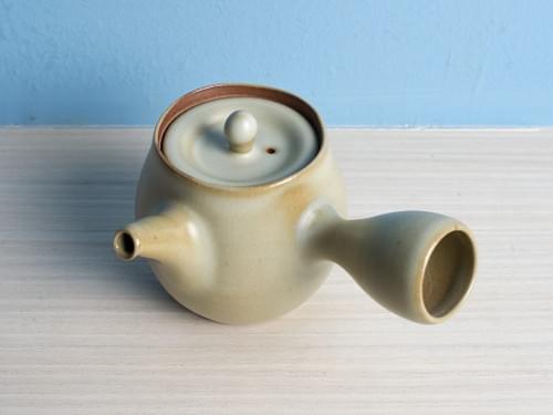 Handmade Glazed Clay Teapot by Bai Sheng-yu (#CSY0003)