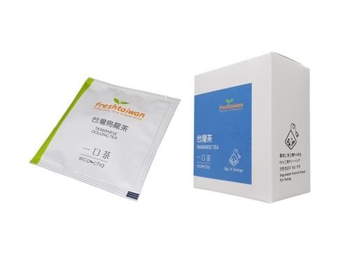 翠玉烏龍茶原葉三角立體充氮PLA茶包