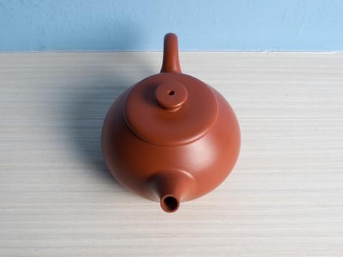 Handmade Zhu Ni (Vermilion Clay) Teapot by Wu Chen-ta (#RCT0003)