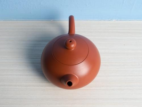 Mini Handmade Zhu Ni (Vermilion Clay) Teapot by Wu Chen-ta (#RCT0007)