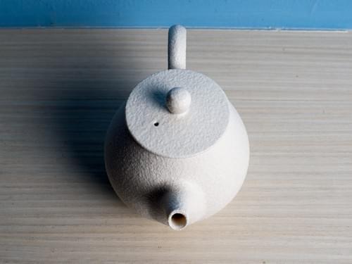 白勝宇雪白瓷正把茶壺(PSY0001)