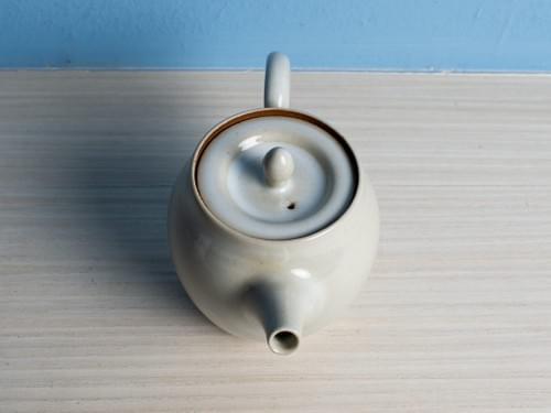 Handmade Glazed Clay Teapot by Bai Sheng-yu (#CSY0001)