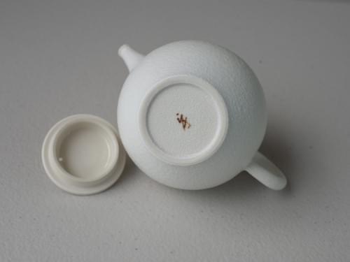 Handmade Porcelain Teapot by Bai Sheng-yu (#PSY0003)