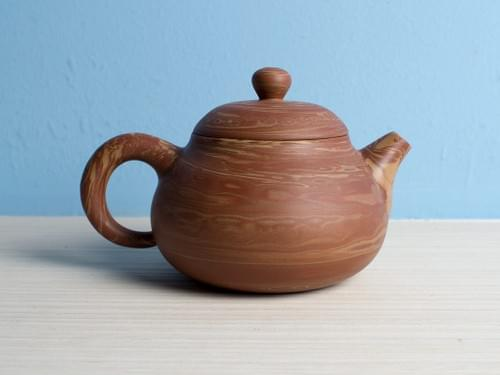 Handmade Twisted Clay Teapot by Wu Chen-ta (#MCT0001)