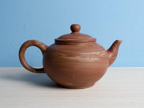 Handmade Twisted Clay Teapot by Wu Chen-ta (#MCT0002)