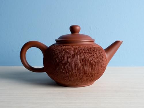 Handmade Zhu Ni Clay Teapot by Wu Chen-ta (#RCT0011)