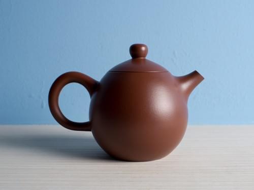 Handmade Zisha Clay Teapot by Wu Chen-ta (#ZCT0002-1)