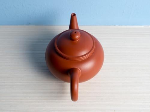 Handmade Zhu Ni (Vermilion Clay) Teapot by Wu Chen-ta (#RCT0005)