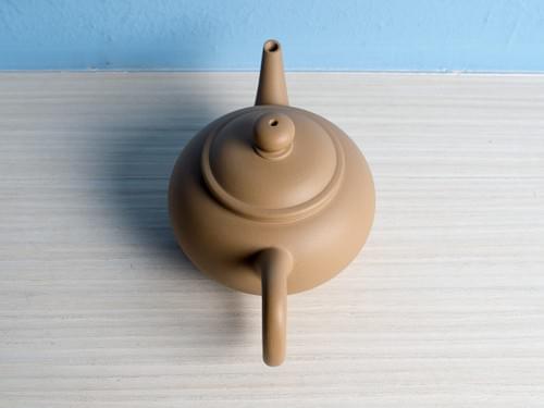 Handmade Duan Ni (Beige Clay) Teapot by Wu Chen-ta (#DCT0001)
