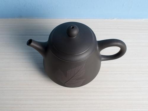 Handmade Gary Clay Teapot by Wu Chen-ta (#GCT0001)