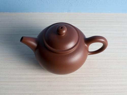 Handmade Zisha Clay Teapot by Wu Chen-ta (#ZCT0003)