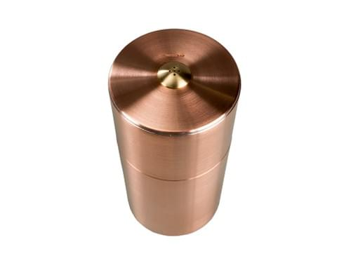 銅倉號手工紅銅茶罐(素面)