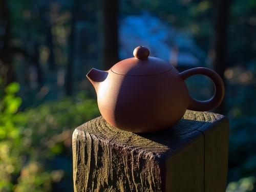 Handmade egg-shell Zisha Clay Teapot by Wu Chen-ta (#ZCT0012)