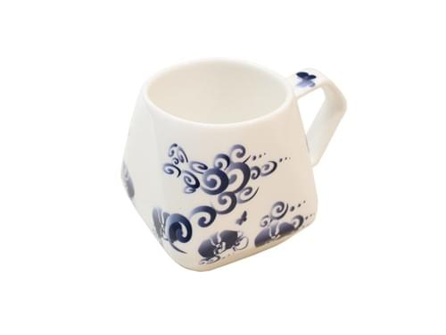 Sky-Lantern-Shaped Mug (Blue Dragon)