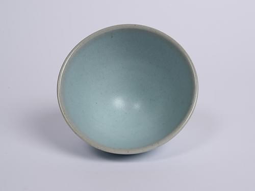 Matte Glazed Celadon Teacup