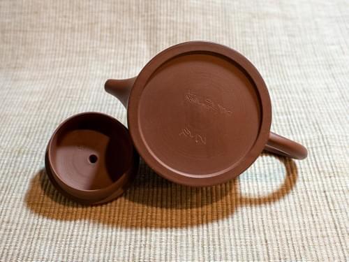 Mini Handmade Zisha Clay Teapot by Wu Chen-ta (#ZCT0011)