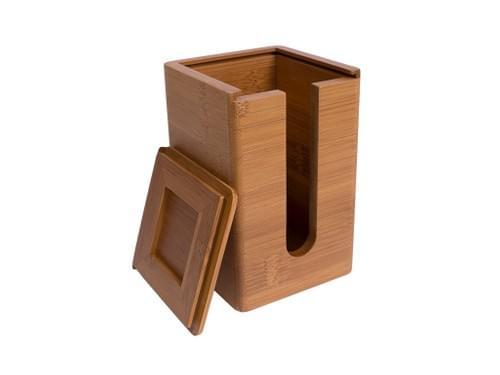 竹製の小さな湯呑みケージ