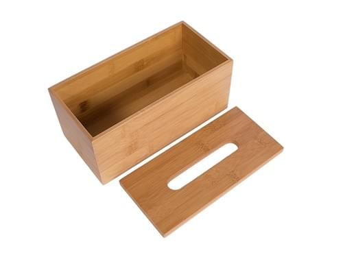 Bamboo Tissue Paper Box