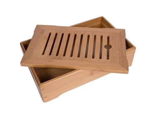竹製茶盤(小、S)