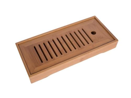 Medium Long Bamboo Tea Tray