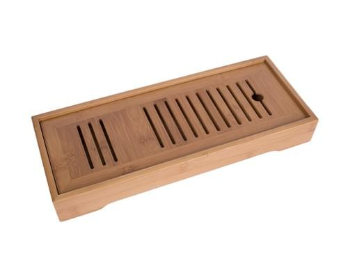Long Bamboo Tea Tray