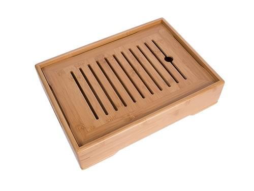 Classic Medium Bamboo Tea Tray