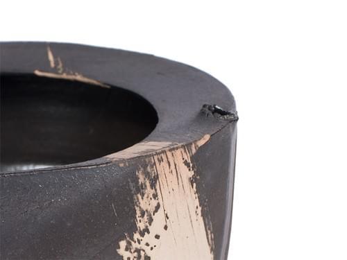 Fashion Tea Waste Bowl (Black)