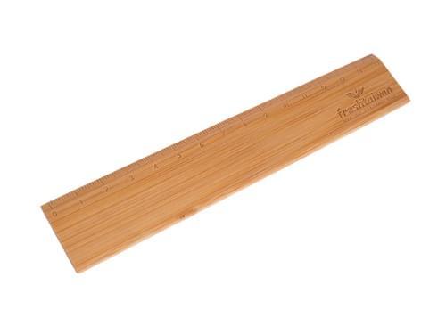 質感な竹製定規
