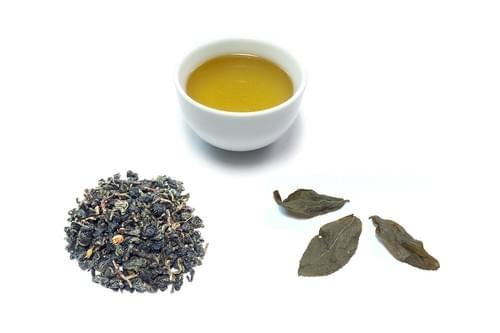一口茶エコ農法クチナシ烏龍茶(ウーロン茶)
