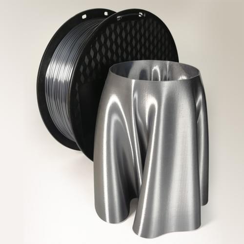PLA Silk-like Silver Grey