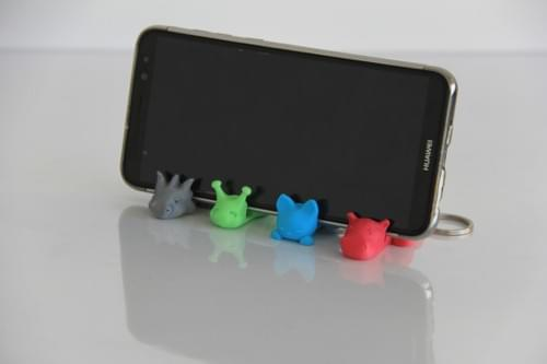 Keychain/Phone Holder