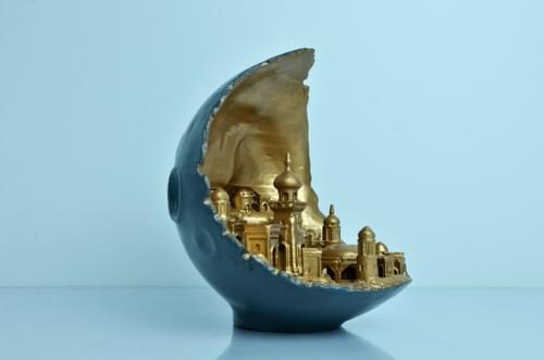 3D Printed Moon City