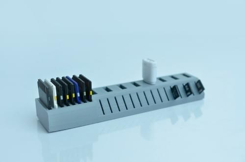 3D Printed USB/SD Holder