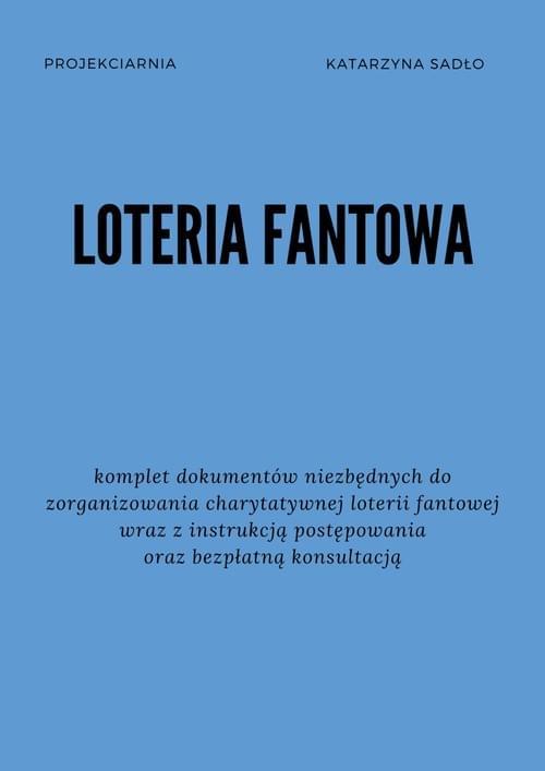 Regulamin loterii fantowej