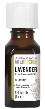 Lavender (Lavandula angustifolia) Essential Oil .5 fl. oz.