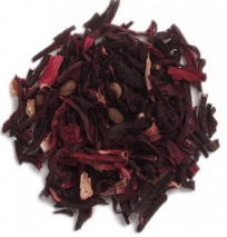 Organic Hibiscus Flower - Hibiscus sabdariffa - 1/2 cup