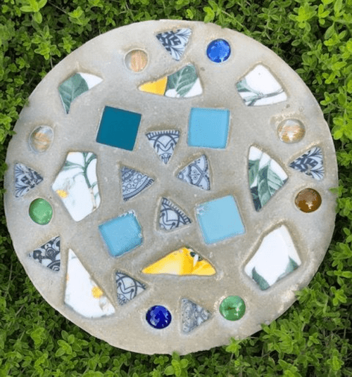 Craft a Decorative Garden Stepping Stone with Katherine Justice  July 24th