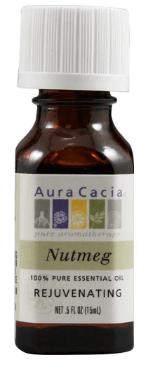 Nutmeg (Myristica fragrans) Essential Oil .5 fl. oz.