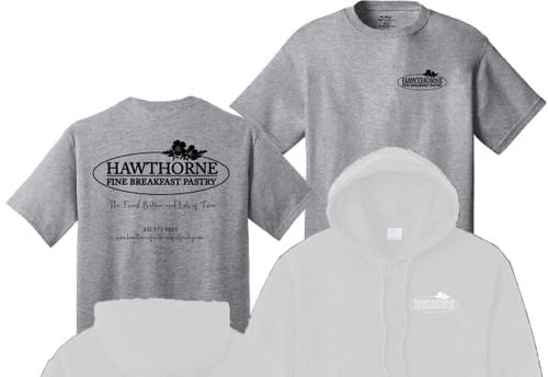 Hawthorne T-shirt - Heathered Grey