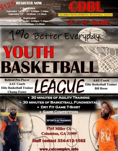CSTC Youth Developmental Basketball League