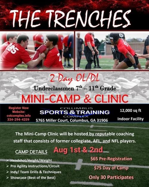 2 Day OL/DL Mini Camp