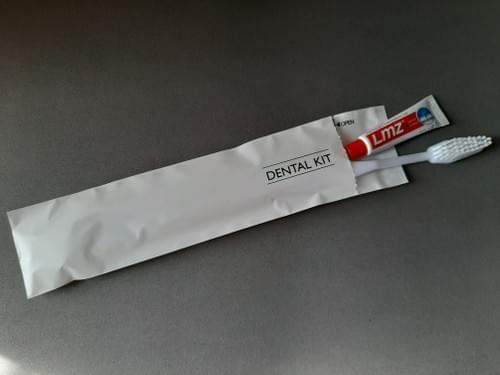 Dental Kit in Matte Pouch
