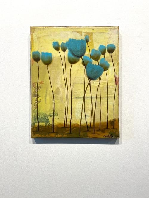 Blue Tulips 2
