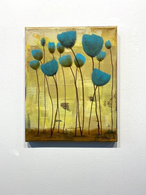 Blue Tulips 1