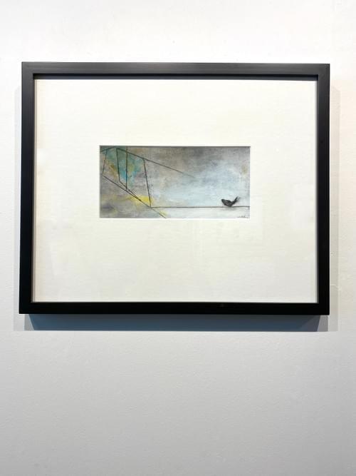 Single Bird on a Wire