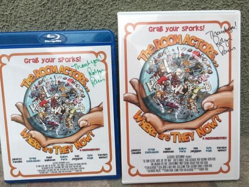 Signed DVD or Blu Ray