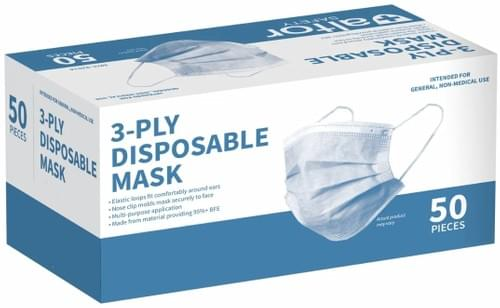India Pandemic Relief Charity Donation: Face Mask (100pcs)