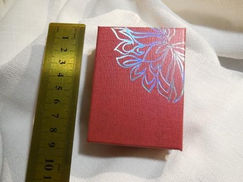 Scatola regalo per ciondoli Rossa