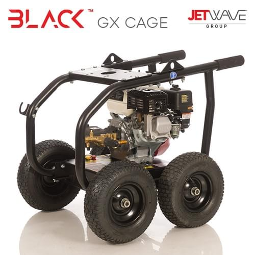 "Jetwave® Black™ GX  Cage with Free 15"" Floor Surface Cleaner - Limited Time Only"