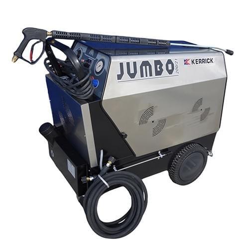 Jumbo Hot Water Pressure Washer 3 Phase 3000 psi 21lpm